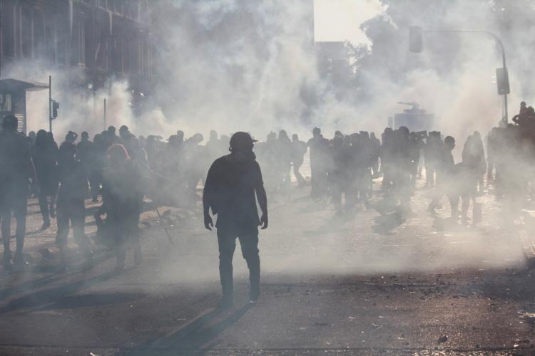 Şili'de hükümet karşıtı gösteriler devam ediyor