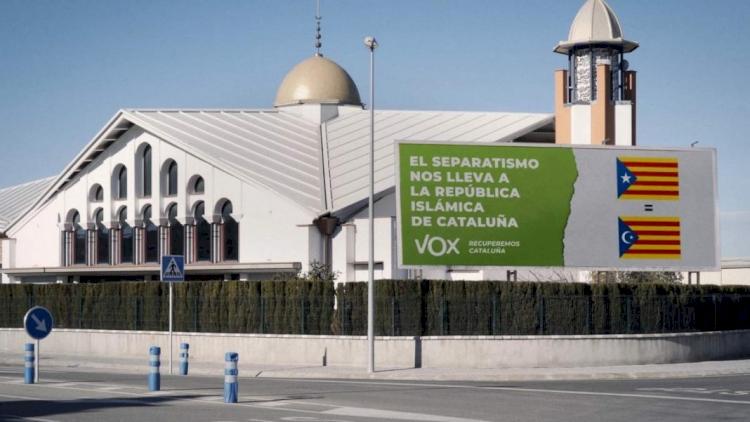 İspanya'da savcılık Vox partisinin 'İslamlaşmaya hayır' kampanyasına karşı soruşturma başlattı