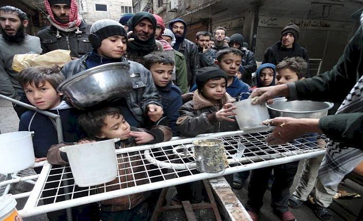 Suriye'de açlık kapıda