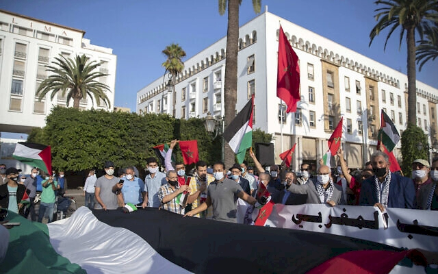 Fas Eğitim Sendikası resti çekti: Siyonist rejim ile yapılan anlaşmaları reddediyoruz