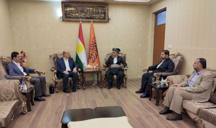 Partîya Doza Azad, Partîya Komela Dadgerîya Kürdistan ziyaret kir