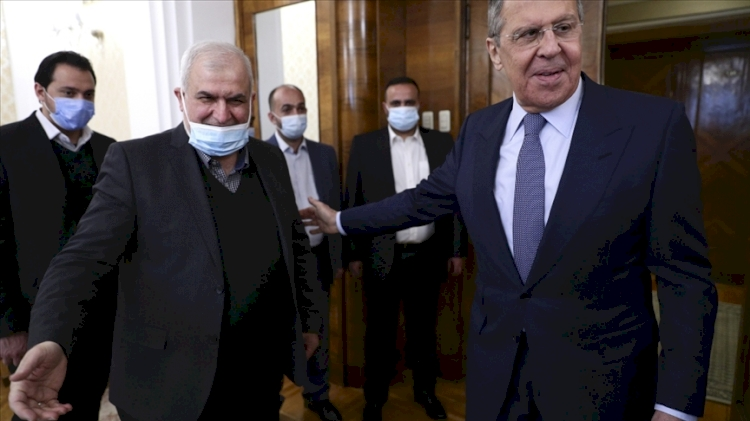 Rusya Dışişleri Bakanı Lavrov, Lübnan'daki Hizbullah heyetiyle bu ülkedeki durumu görüştü