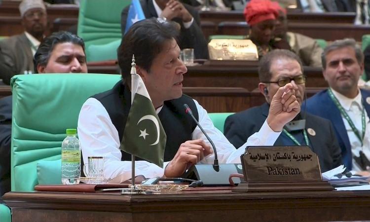 Pakistan Başbakanı Han, İslam İşbirliği Teşkilatı'na 'İslamofobi ile kararlı mücadele' çağrısı yaptı