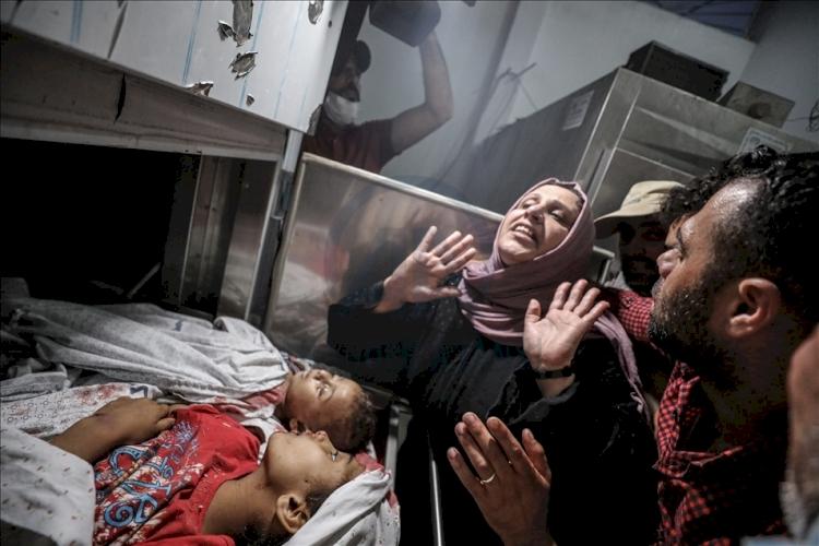 HRW: İşgalci İsrail Gazze'de 'savaş suçu' işledi