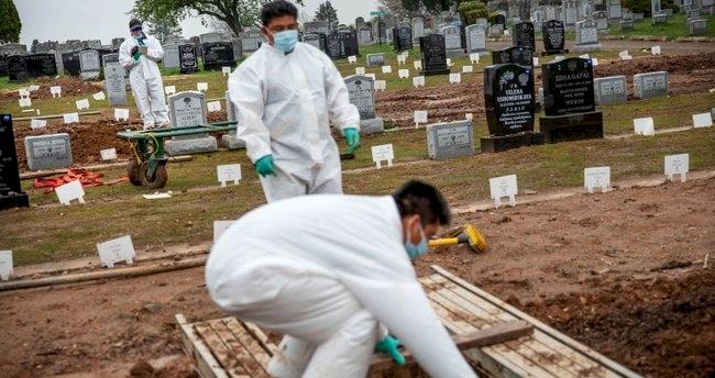 ABD'de son 24 saatte 530 kişi Kovid-19 nedeniyle öldü