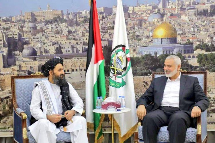 Hamas, Amerikan işgalini mağlup etmesi vesilesiyle Afgan halkını tebrik etti