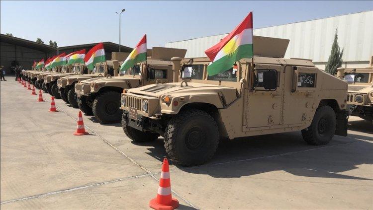 DEAŞ karşıtı koalisyondan Peşmerge güçlerine askeri yardım