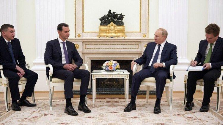 Putin, Moskova'da Esed ile görüştü