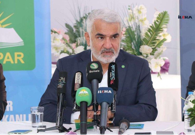 Yapıcıoğlu: Baraj sıfırlanmalı ve tüm siyasi görüşler kendilerini mecliste temsil edebilmeli