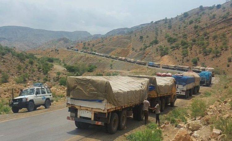 BM: Etiyopya'nın Tigray eyaletine giren yüzlerce yardım tırı geri dönmedi