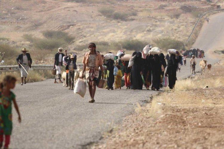 Yemen'in Marib kentinde artan çatışmalar nedeniyle geçen ay 10 bin kişi yerinden oldu