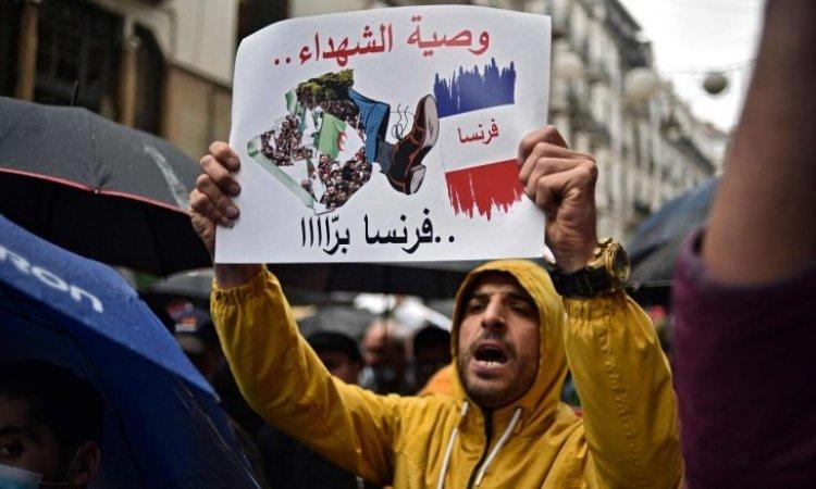 Cezayir'deki yerel şirketler grubundan 500 Fransız firmasıyla ilişkileri kesme girişimi