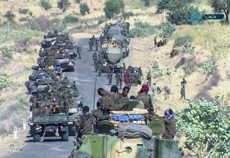 Tigray Halk Kurtuluş Cephesi: Etiyopya ordusu tüm cephelerden Tigray'a saldırı başlattı