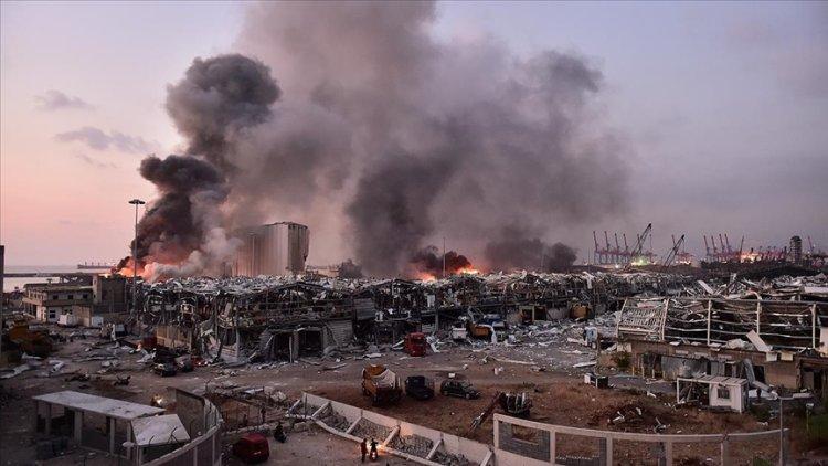 Beyrut Limanı'ndaki patlamaya ilişkin soruşturma askıya alındı