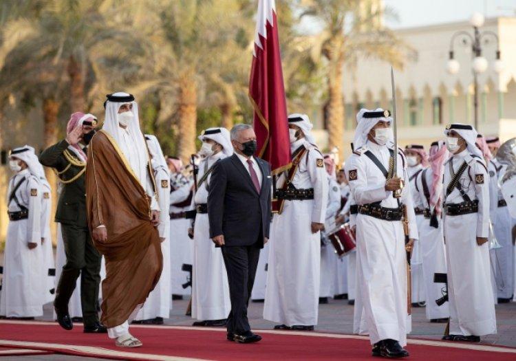 Ürdün'den 'Katar ile güçlü ilişki' mesajı