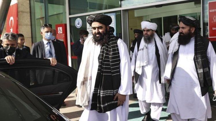 Afganistan Dışişleri Bakan Vekili Muttaki Türkiye'de