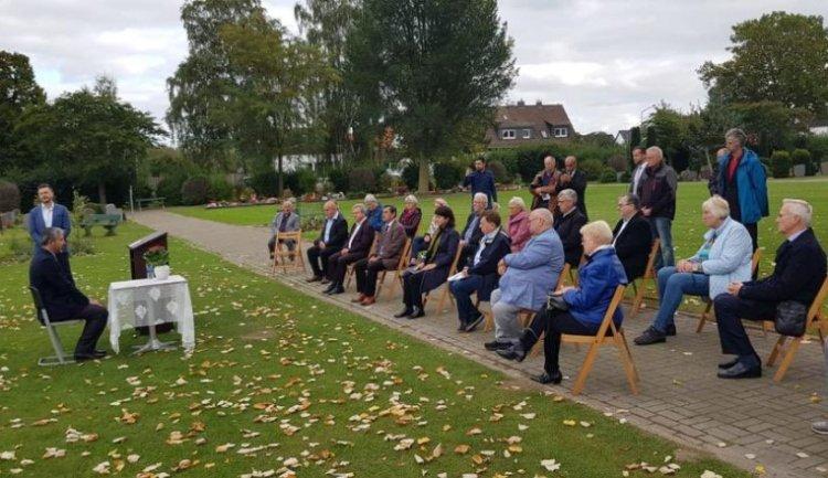 Almanya'nın Wunstorf şehrinde Müslüman mezarlığı açıldı